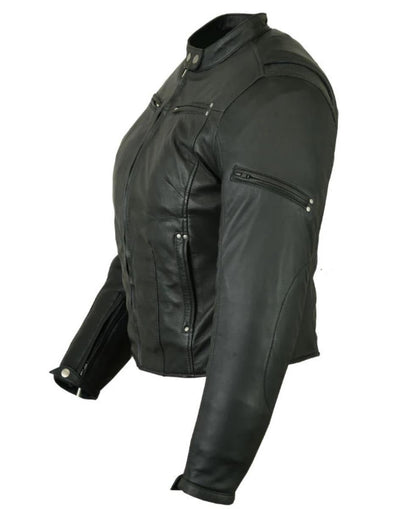 Daniel Smart Women's Lightweight Lambskin Jacket