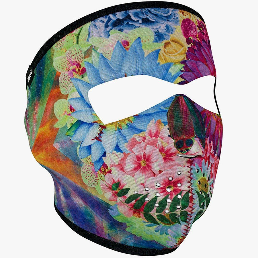 Zan headgear® Flower Skull Face Mask