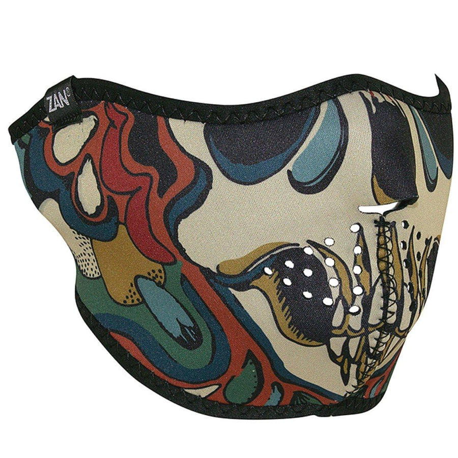 Zan headgear® Psychedelic Skull Face Mask