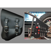 La Rosa All Softail Models Saddle Bag wiith Inside Tool Pouches - American Legend Rider