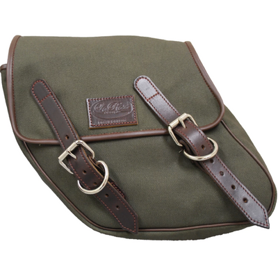 La Rosa Canvas Eliminator Left Side Saddle Bag