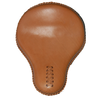 La Rosa Classic Plain Leather Solo Seat