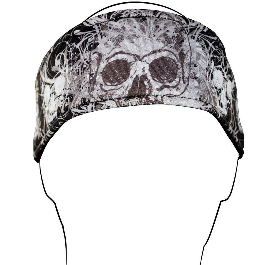 Zan headgear® Davinci Skull Headband