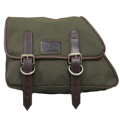 La Rosa Eliminator Canvas Saddle Bag (Left Side)