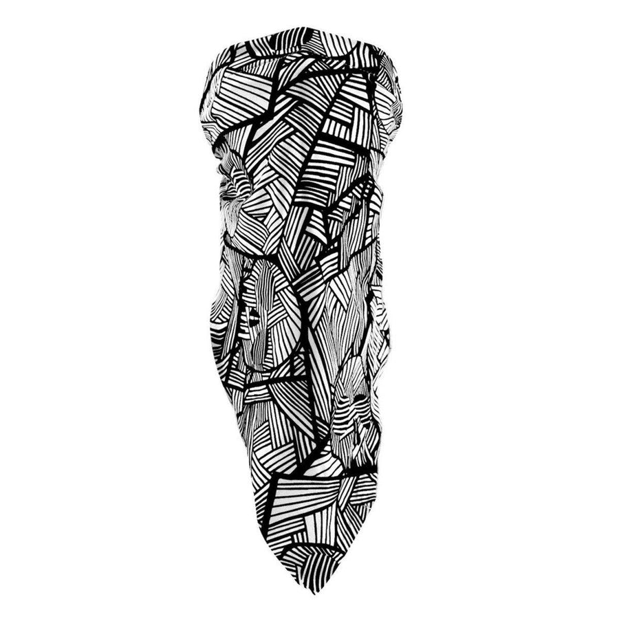 Zan headgear® Microlux 3 in 1 Geometric Skull Bandana