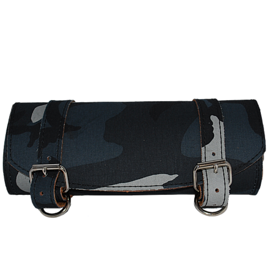La Rosa Universal Front Fork Navy Camouflage Tool Bag