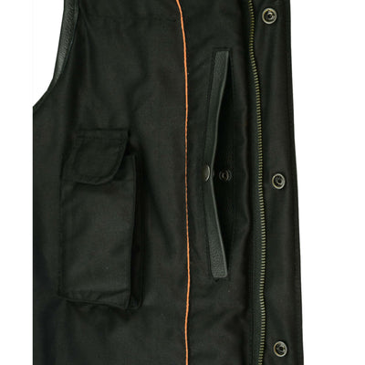 Daniel Smart Milled Cowhide Leather Vest