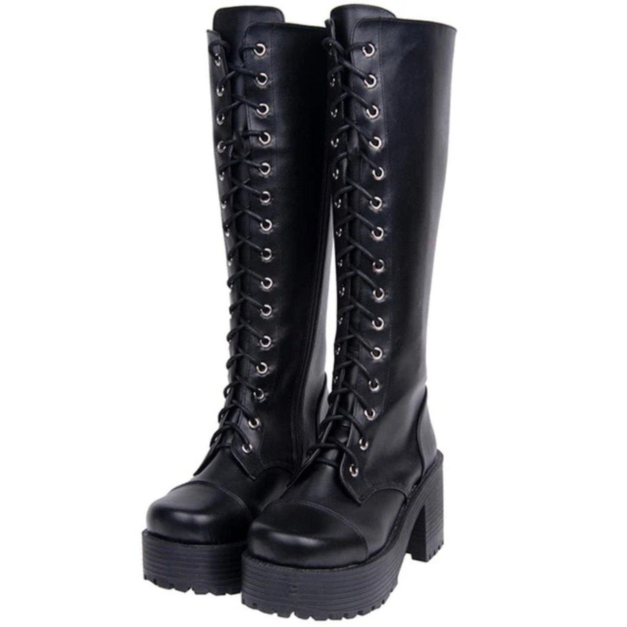 Women's Gothic Punk High Boots