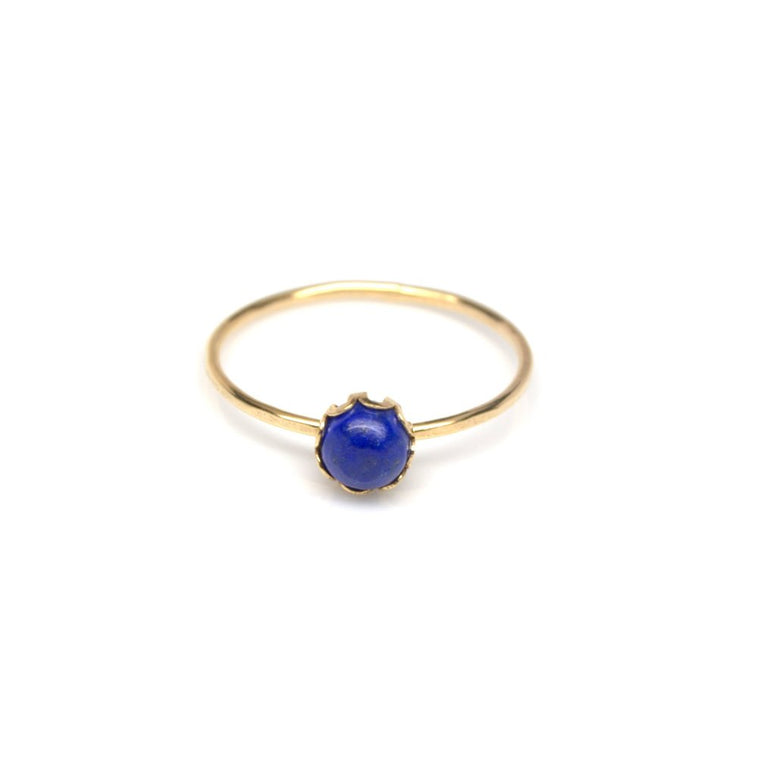 Cobalt Stacking Ring