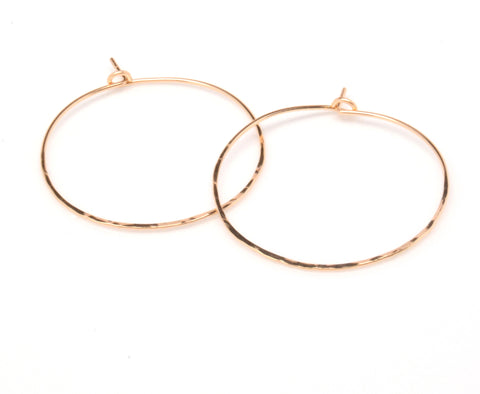 Classic Hammered Hoops