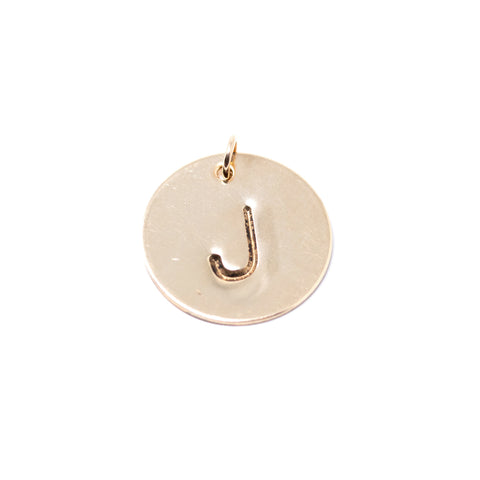 Monogram Pendant - Additional Letter