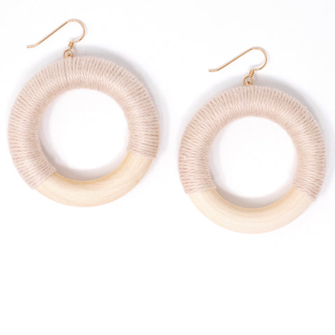 These Native Goods Hoops- Polaris