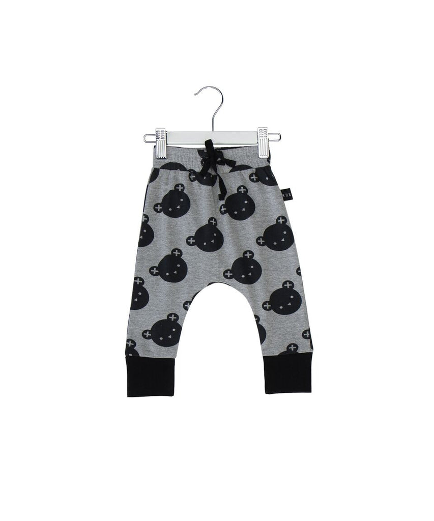 Huxbaby angle bear drop crotch pant - Huxbaby-pants-Mini Wardrobe Boutique Kidswear Online