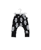 Huxbaby soldier bears drop crotch pants in black - Huxbaby-Bottom-Mini Wardrobe Boutique Kidswear Online