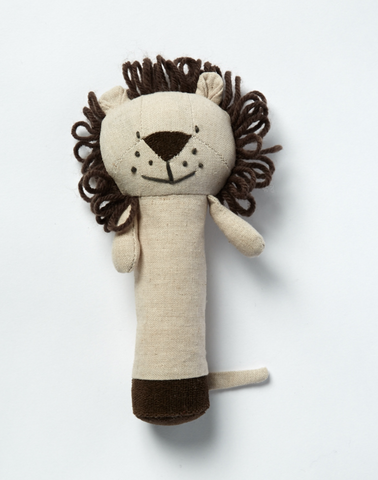 Levi Lion Rattle - miniwardrobe-toys-Mini Wardrobe Boutique Kidswear Online