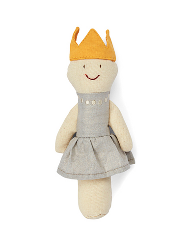Queen baby Rattle - miniwardrobe-toys-Mini Wardrobe Boutique Kidswear Online
