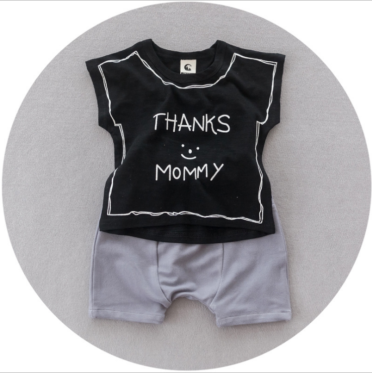 Thank you mummy set - miniwardrobe-Outfit Set-Mini Wardrobe Boutique Kidswear Online