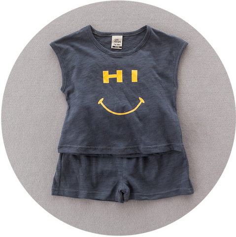 Hi bye set - miniwardrobe-Outfit Set-Mini Wardrobe Boutique Kidswear Online