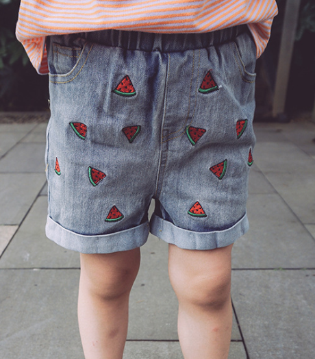 Watermelon shorts - miniwardrobe-bottom-Mini Wardrobe Boutique Kidswear Online