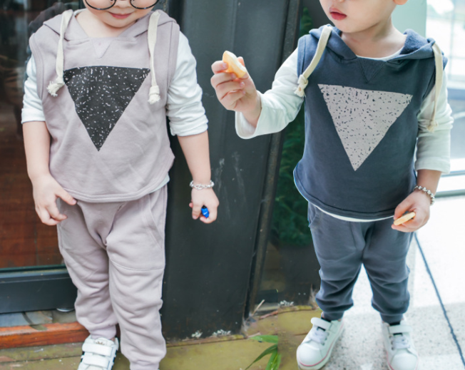 Triangle 3 pcs set - miniwardrobe-Outfit set-Mini Wardrobe Boutique Kidswear Online
