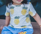 pineapple top - miniwardrobe-Tops-Mini Wardrobe Boutique Kidswear Online