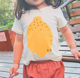 lemon Tee - miniwardrobe-Tops-Mini Wardrobe Boutique Kidswear Online