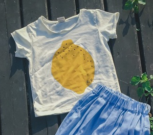 Lemon Tee Mini wardrobe kidswear