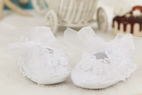 Lace shoes - miniwardrobe-Accessories-Mini Wardrobe Boutique Kidswear Online