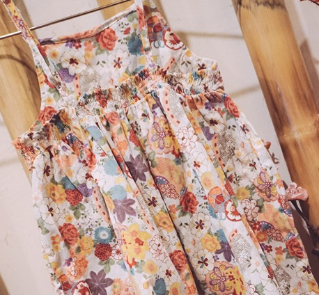 Floral summer dress - miniwardrobe-Dresses-Mini Wardrobe Boutique Kidswear Online