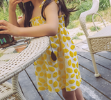 Lemon 2 way dress/skirt - miniwardrobe-Dresses-Mini Wardrobe Boutique Kidswear Online