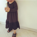 Maxi Layer Dress - Mini Dressing-Dresses-Mini Wardrobe Boutique Kidswear Online