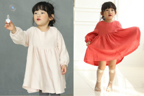 Som Som Dress - Mini Dressing-Dresses-Mini Wardrobe Boutique Kidswear Online