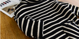 turtle neck stripe dress - miniwardrobe-Dress-Mini Wardrobe Boutique Kidswear Online