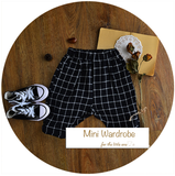 checked hareem pants - miniwardrobe-bottom-Mini Wardrobe Boutique Kidswear Online