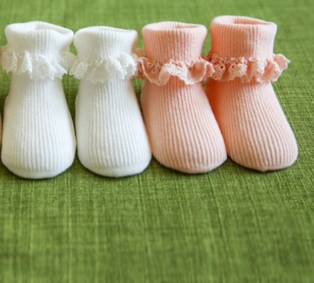 Baby Ruffle Socks - miniwardrobe-Accessories-Mini Wardrobe Boutique Kidswear Online