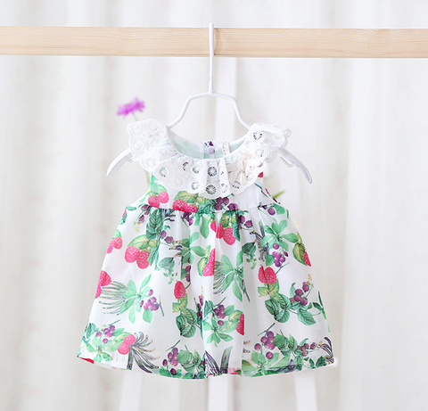 forest dress / top - Mini Wardrobe Kidswear-Dress-Mini Wardrobe Boutique Kidswear Online