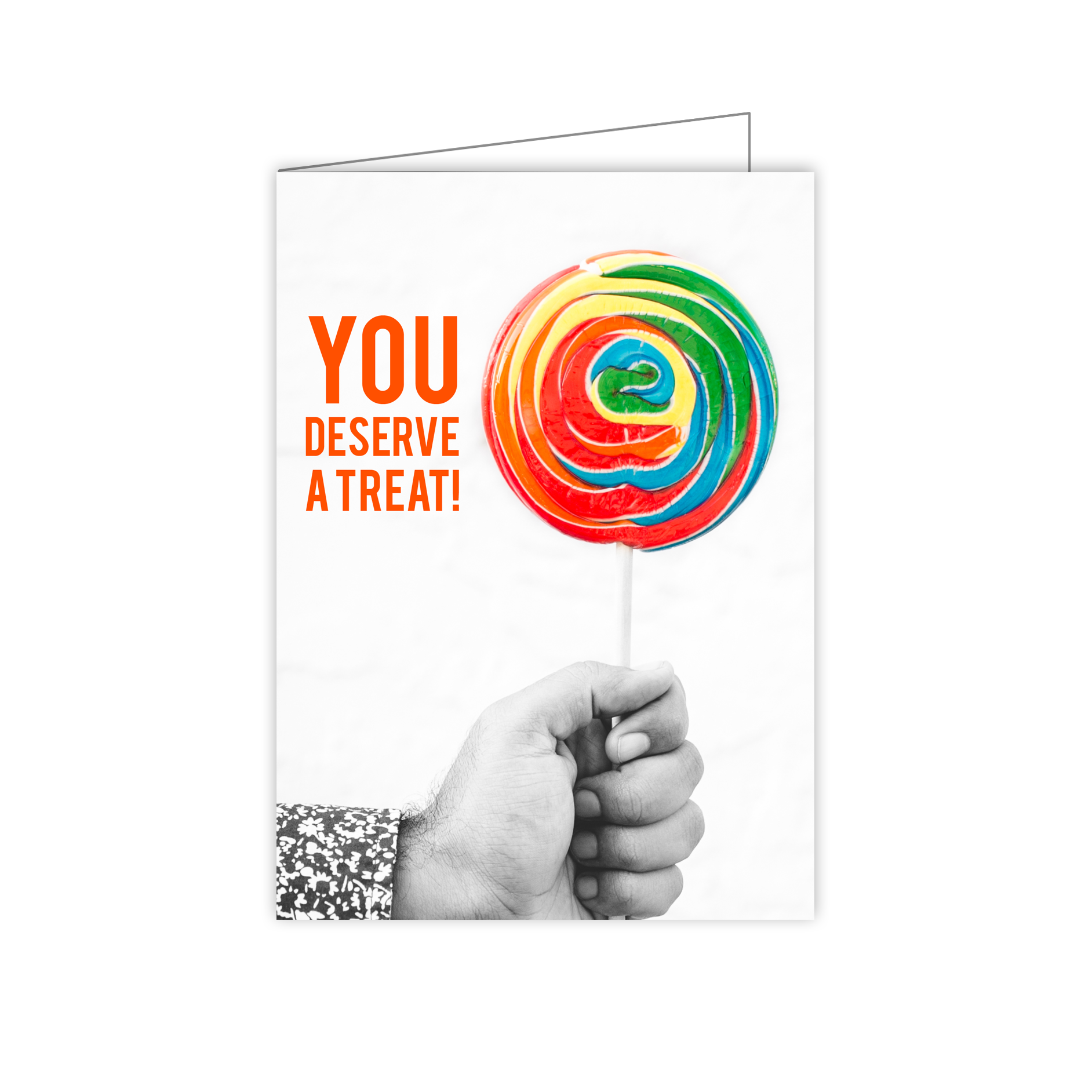 Congratulations With Candy Greeting Card Huetribe
