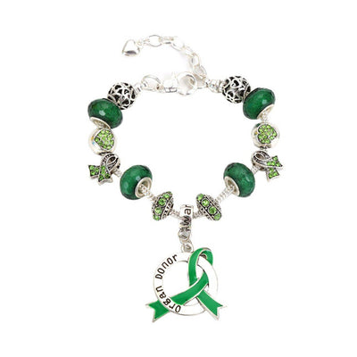 2019 Organ Donor Awareness Luxury Charm Bracelet odlcb Awareness-alert