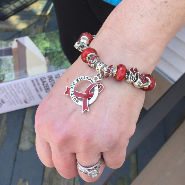 Multiple Myeloma Awareness Luxury Charm Bracelet