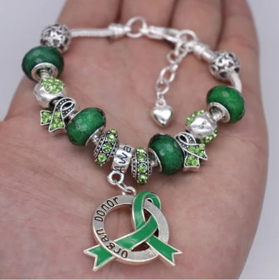 Organ Donor Awareness Luxury Charm Bracelet