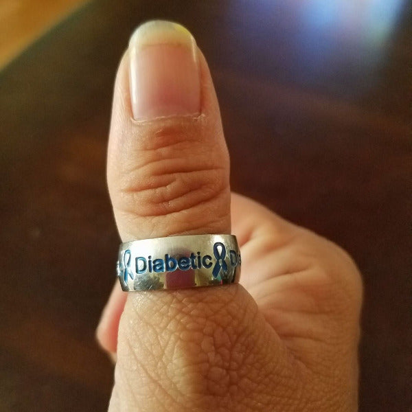 DIABETIC RING D1 Awareness-alert
