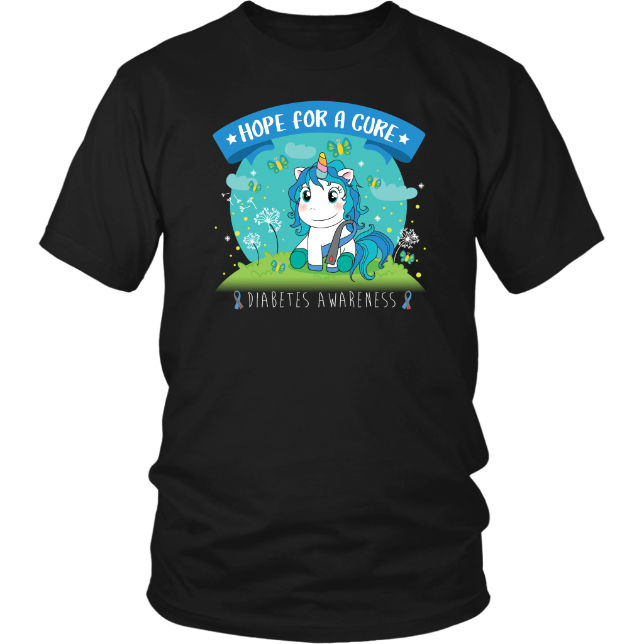 Unicorn for Diabetes Awareness Shirt