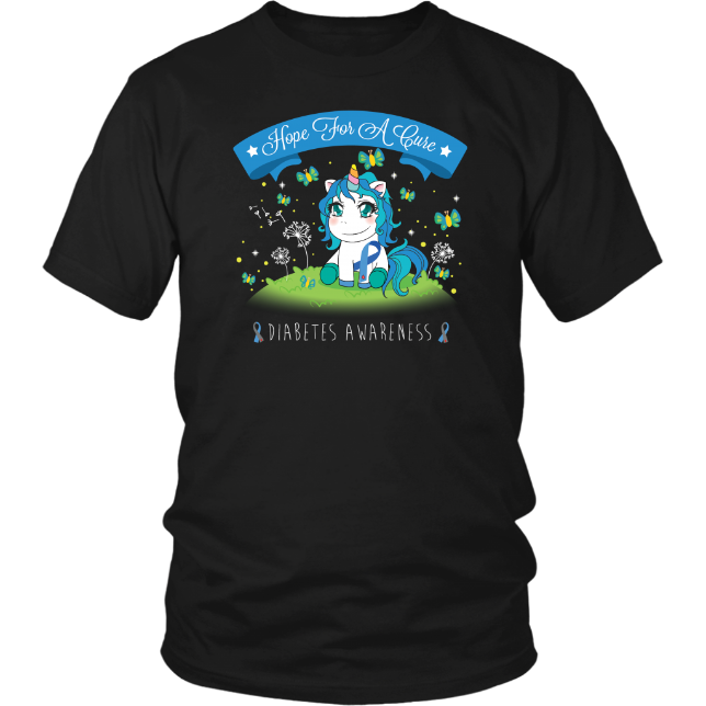 Unicorn Diabetes Awareness Shirt
