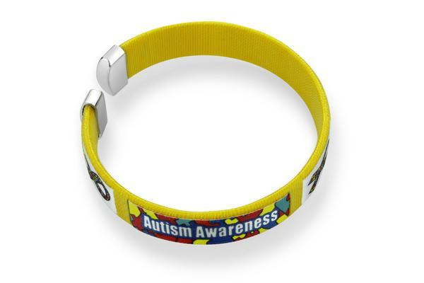 Autism awareness bangle bracelet AABB1 Awareness-alert