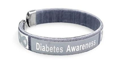 DABB1 - Diabetes Awareness Bangle Bracelet