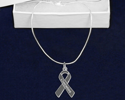 DRN - Diabetes Ribbon Necklace