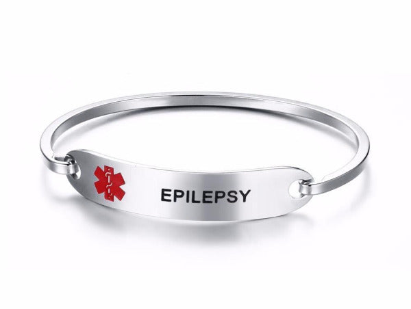 Epilepsy Awareness Alert Bracelet EAAB Awareness-alert Epilepsy