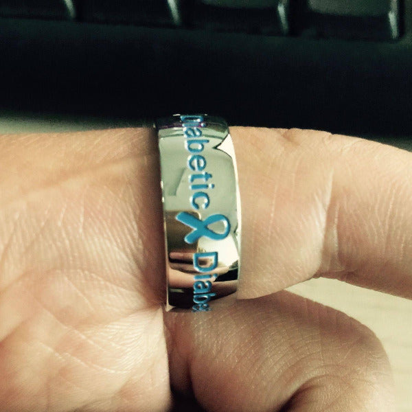 DIABETIC RING D1 Awareness-alert 6