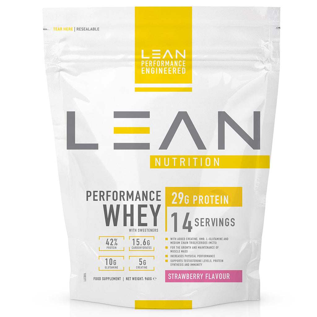 Muscle growth whey protein