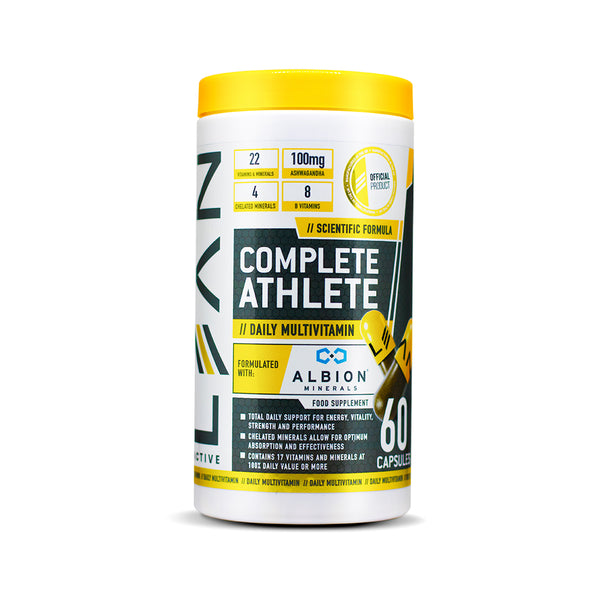 LEAN Active Complete Athlete Multivitamin 60 Capsules